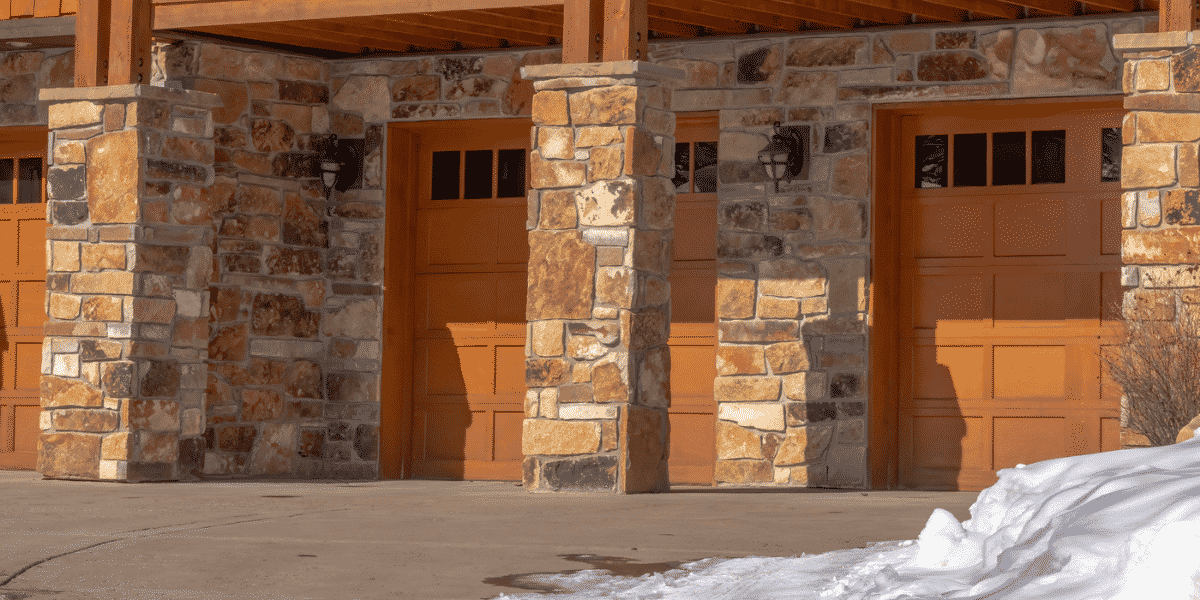 curb appeal in winter
